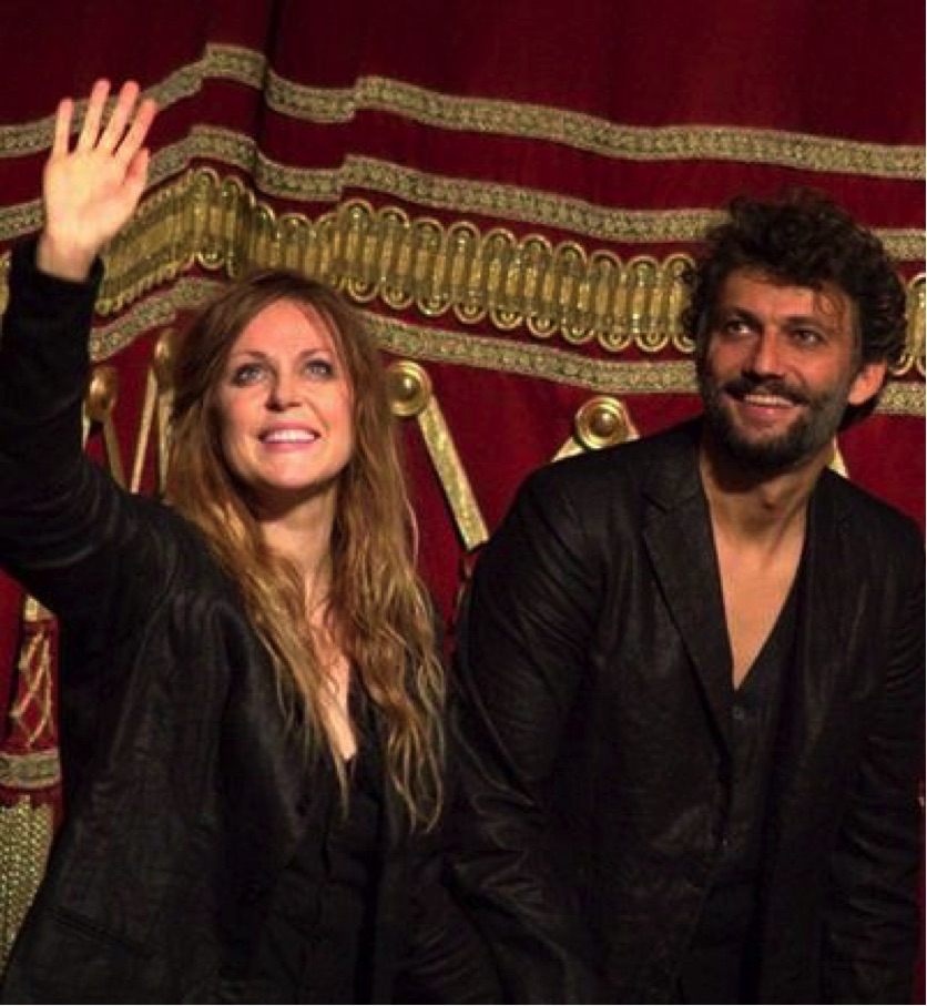Kristine Opolais e Jonas Kaufmann © Tutti i diritti sono riservati all'autore
